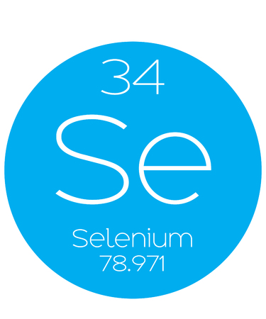 an informative illustration of the periodic element - selenium